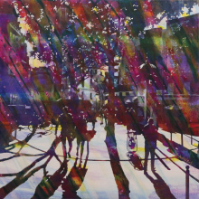 S25 81x81cm Sound of town 2015